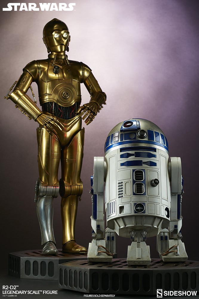 Sideshow Collectibles - C-3PO & R2-D2 Legendary Scale Figure Star-w35