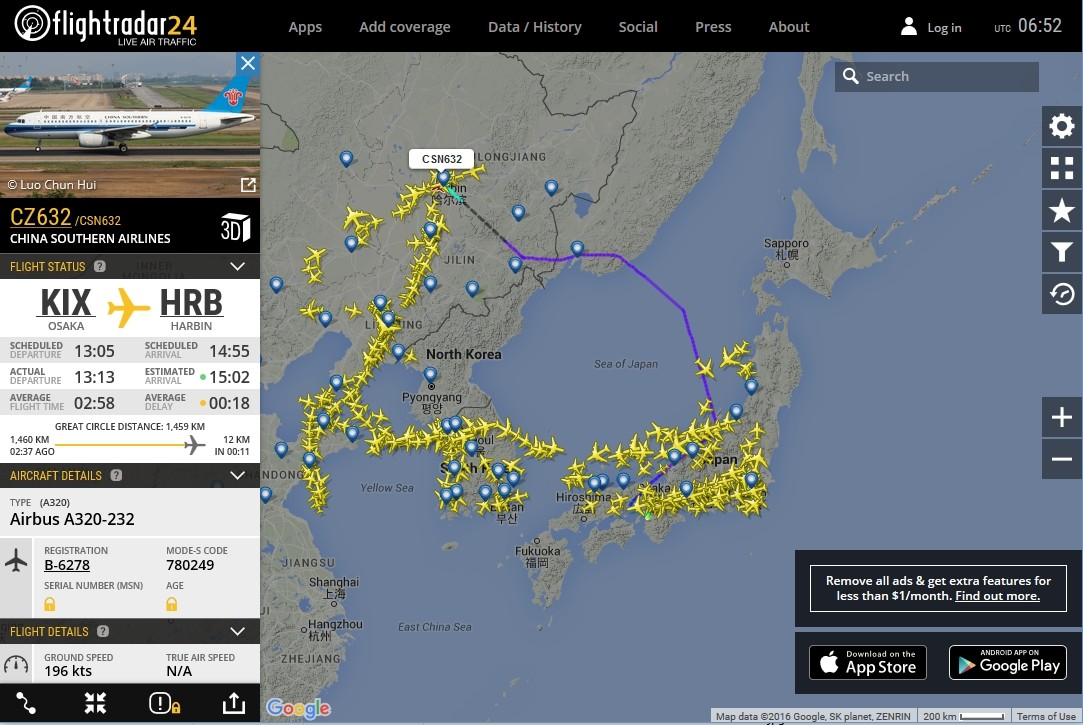 radarvirtuel.com/Flightradar24.com : tous les avions en vol en direct sur une carte - Page 3 2corye12