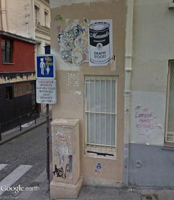 STREET VIEW : street art, grafs, tags et collages - Page 5 Collag10
