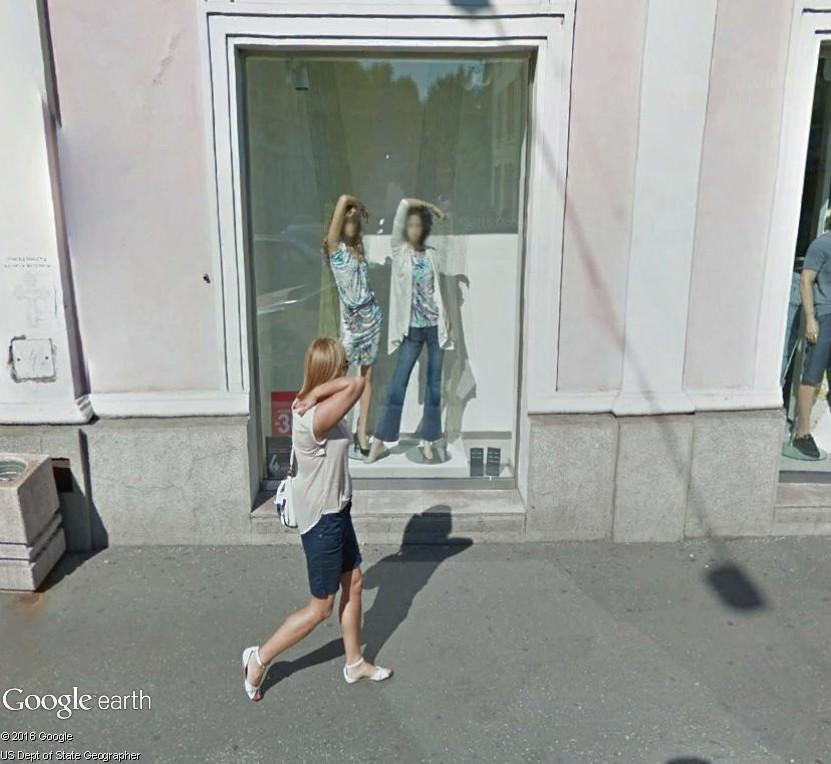 STREET VIEW : gestuelle à la mode ou chorégraphie de l'été ? Gestue10
