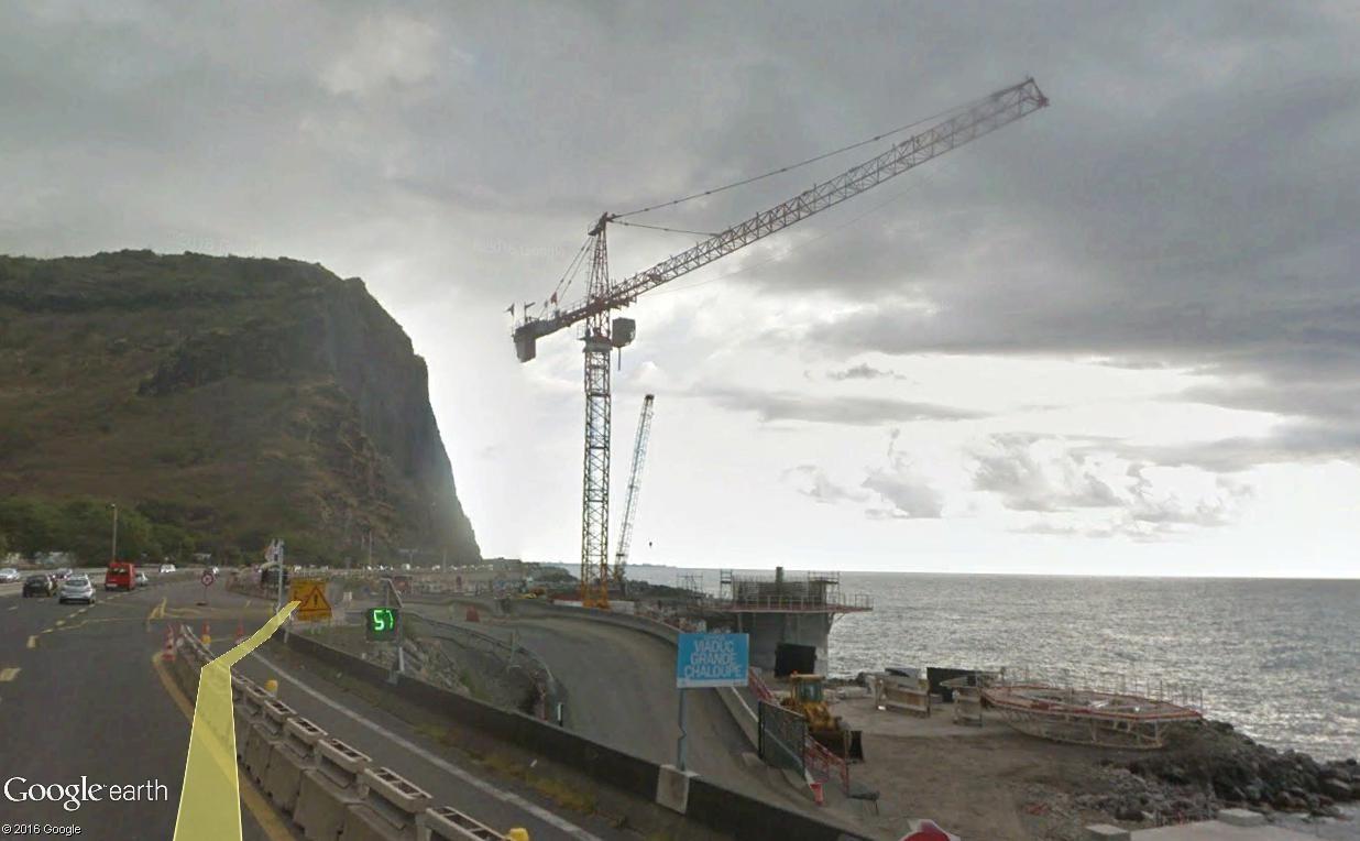 [Bientôt visible sur Google Earth]  La nouvelle route du Littoral, la Réunion Route_10