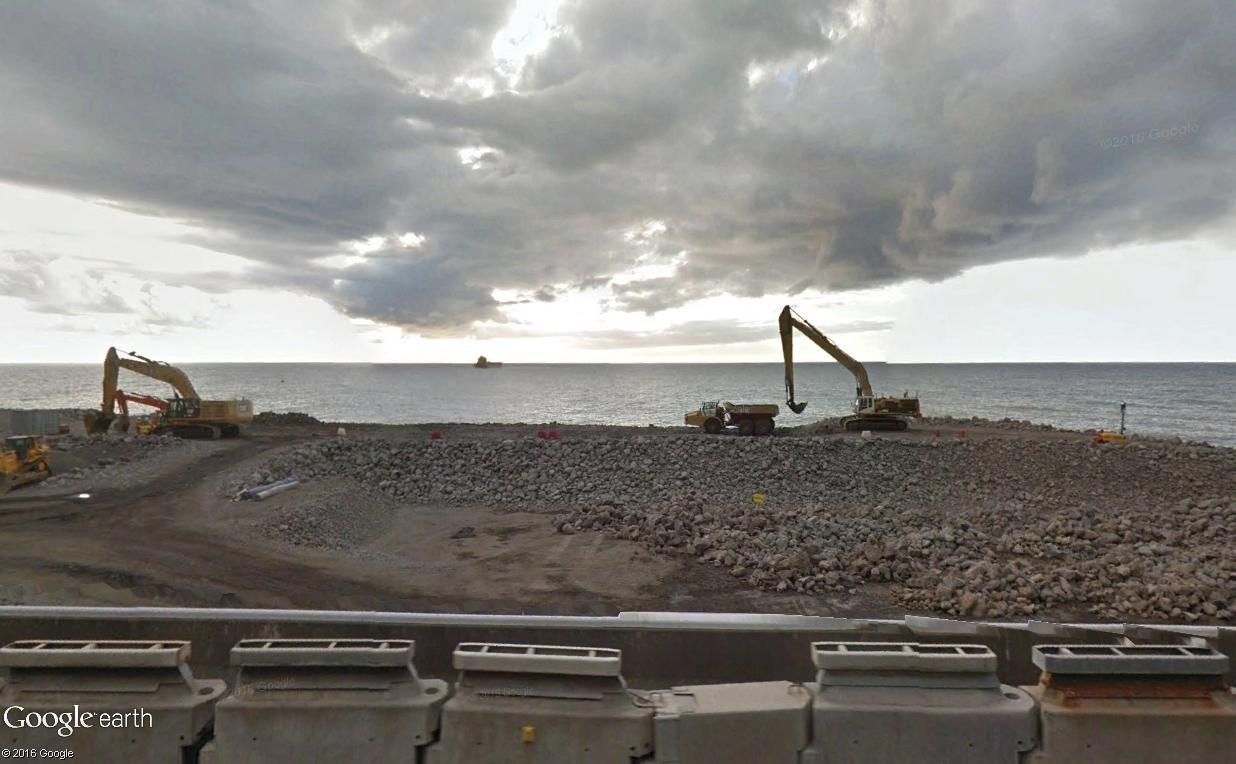 [Bientôt visible sur Google Earth]  La nouvelle route du Littoral, la Réunion Route_12