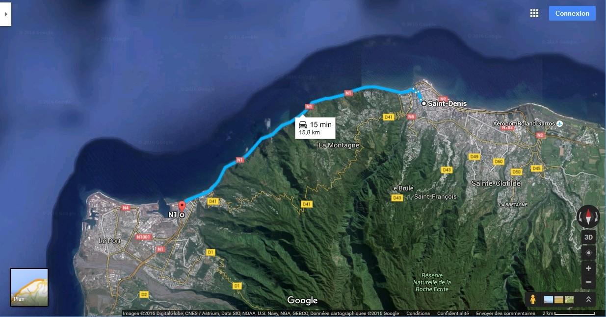 [Bientôt visible sur Google Earth]  La nouvelle route du Littoral, la Réunion Route_15