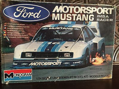 recherche planche de décalcos Mustang IMSA Ford-m10