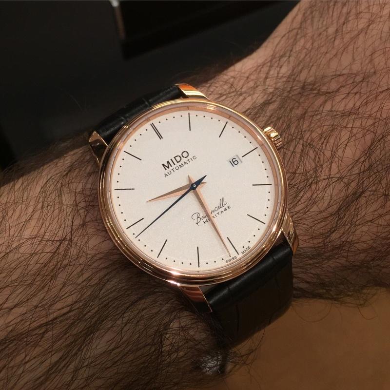 Mido - News : Mido Baroncelli Calibre 80 Chronomètre Si  Image28