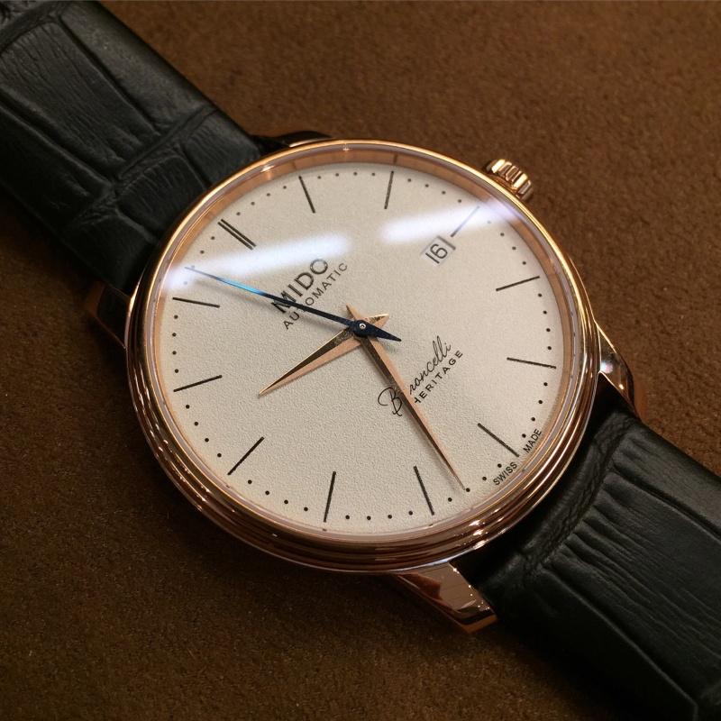 Mido - News : Mido Baroncelli Calibre 80 Chronomètre Si  Image29
