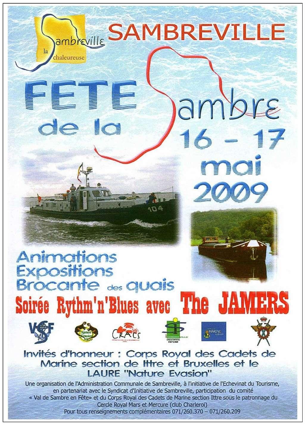 """""""val de Sambre en fête"""": Sambreville 2009 Affich10"""