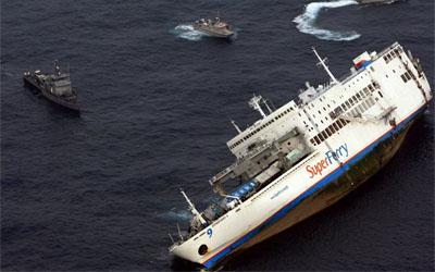 Les naufrages et les crash dans la Marine Philip10