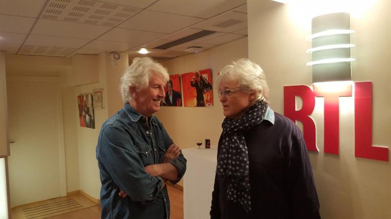 Graham Nash en Master Class sur RTL 20160310