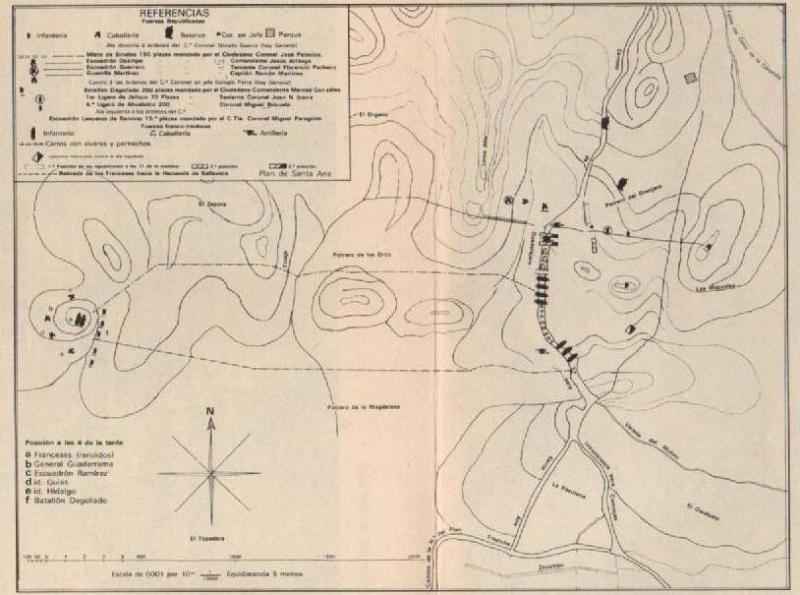 Prospeccion en LA BATALLA DE LA CORONILLA 1866* Mapa10