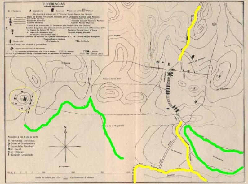 Prospeccion en LA BATALLA DE LA CORONILLA 1866* Mapa110