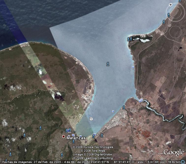 Mapa de Bahía de Matanzas de 1764... ¿naufragios? Matanz10