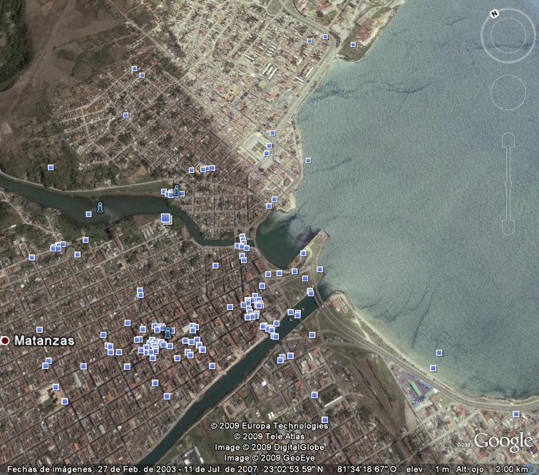 Mapa de Bahía de Matanzas de 1764... ¿naufragios? Matanz11