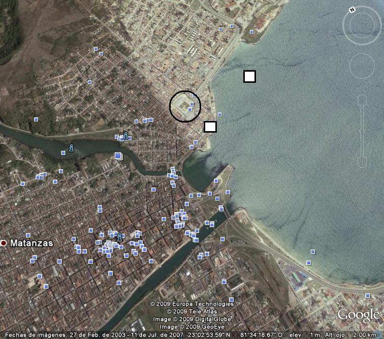 Mapa de Bahía de Matanzas de 1764... ¿naufragios? Matanz12