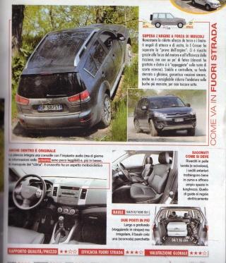 """Test C-Crosser sulla rivista """"Al Volante"""" Prova_11"""