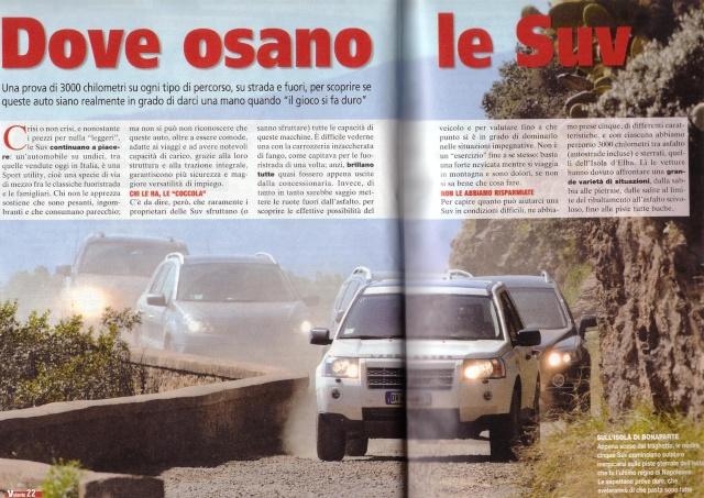 """Test C-Crosser sulla rivista """"Al Volante"""" Testat12"""