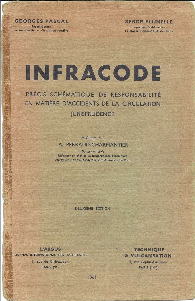 Infra code de 1961 - Jurisprudence Numyri10
