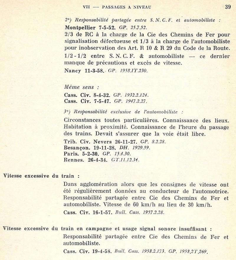 Infra code de 1961 - Jurisprudence Numyri14
