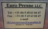 Euro Presse LLC (EuroPresse) 63-510