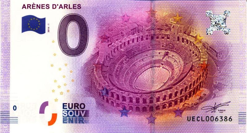 Billets 0 € Souvenirs  [SUD = 62] Arles-10