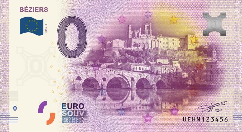 Billets 0 € Souvenirs = 75 Byzier10