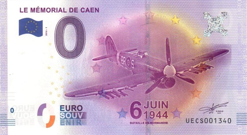Billets 0 € Souvenirs = 65 Caen2010