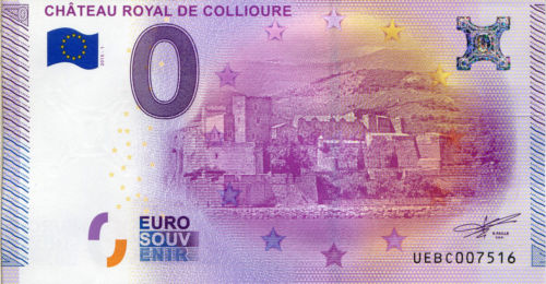 Billets 0 € Souvenirs = 75 Collio10