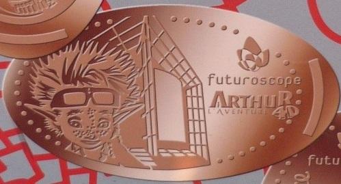 Elongated par graveur Eti Medals Futuro15