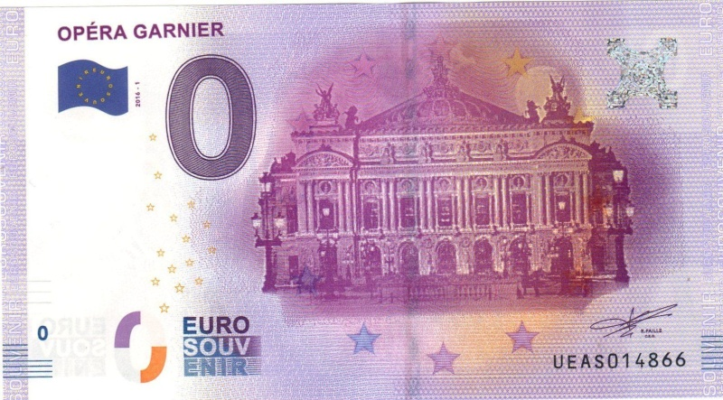 Billets 0 € Souvenirs  [Paris = 81] Garnie10