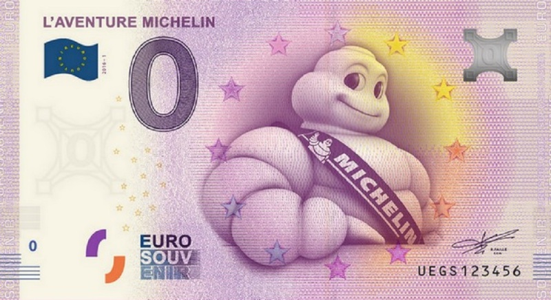 Billets 0 € Souvenirs  = 40  Michel13