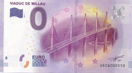 Billets 0 € Souvenirs = 80 Millau10