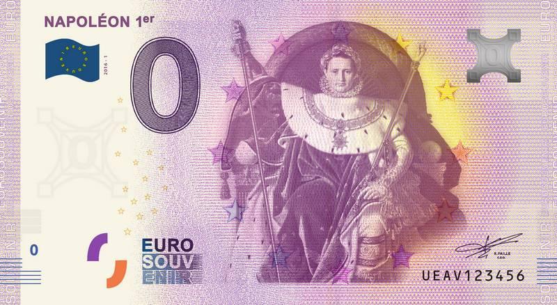 Billets 0 € Souvenirs  [Paris = 81] Napoly10