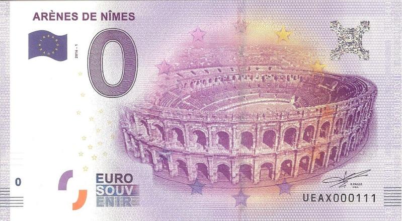 Billets 0 € Souvenirs = 80 Nimes210