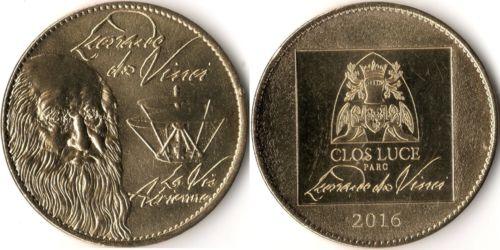 Amboise (37400)  [Clos Lucé] Vinci10