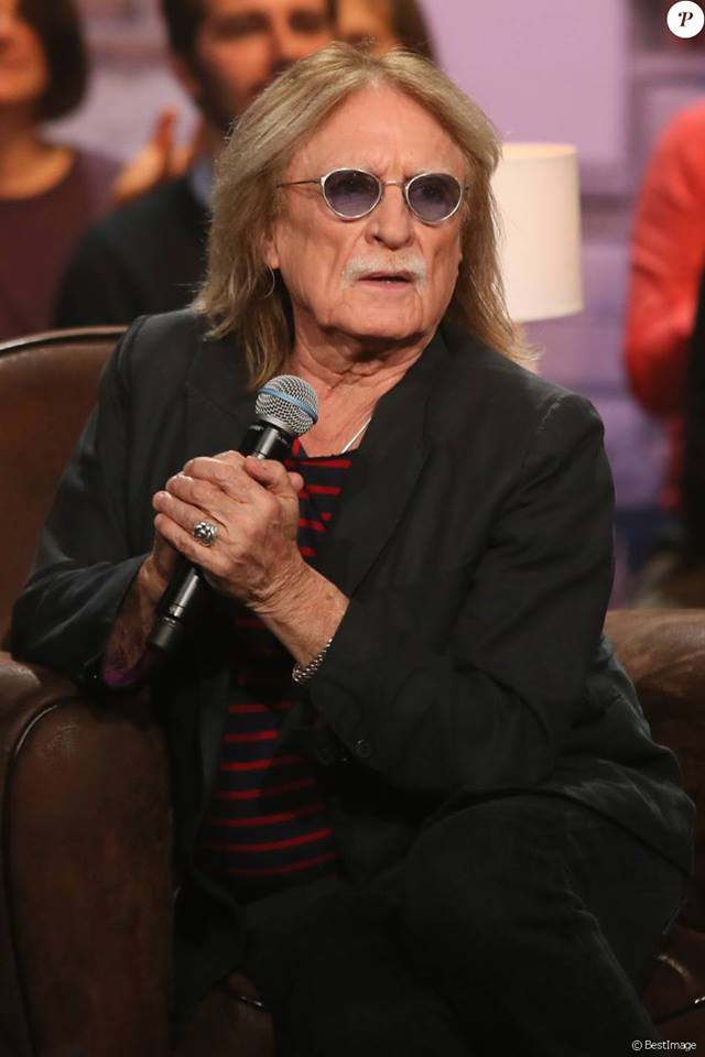Exclusif - Le chanteur Christophe, lors de l'enregistrement de l'émission Du côté de chez Dave à Paris 13151910