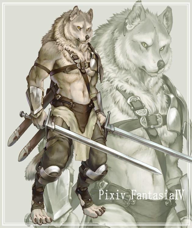 Création de Race : l'Homme loup Werewo10