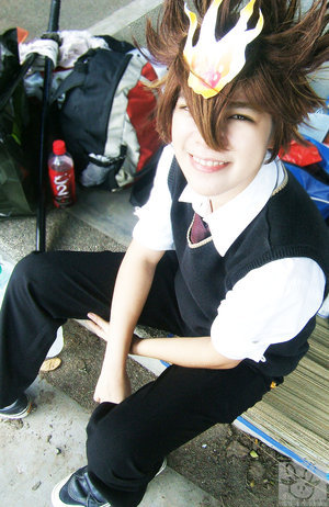 Cosplay Tsuna Hitman10