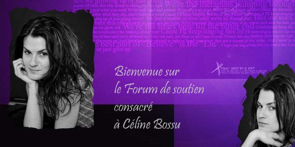 Céline Bossu, forum de soutien