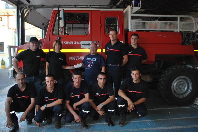 Solidarité Famille des pompiers tués : REMISE DE DONS 2009 Dsc_0010