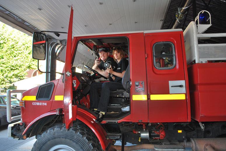 Solidarité Famille des pompiers tués : REMISE DE DONS 2009 Dsc_0011