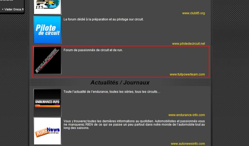Le forum référencé par ORECA Oreca_10