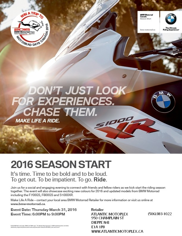 Atlantic Motoplex inviting BMWONS and BMW friends to a launc Admat_10
