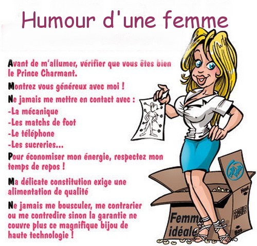 Hommes/Femmes mode d'emploi Bvqla410