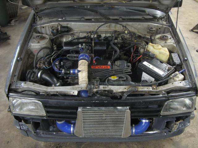 Golden Boy - Dödsgrå turbo Starlet (bilen såld) Byggt_28