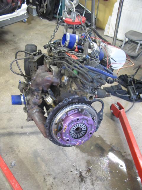 Golden Boy - Dödsgrå turbo Starlet (bilen såld) Projek17