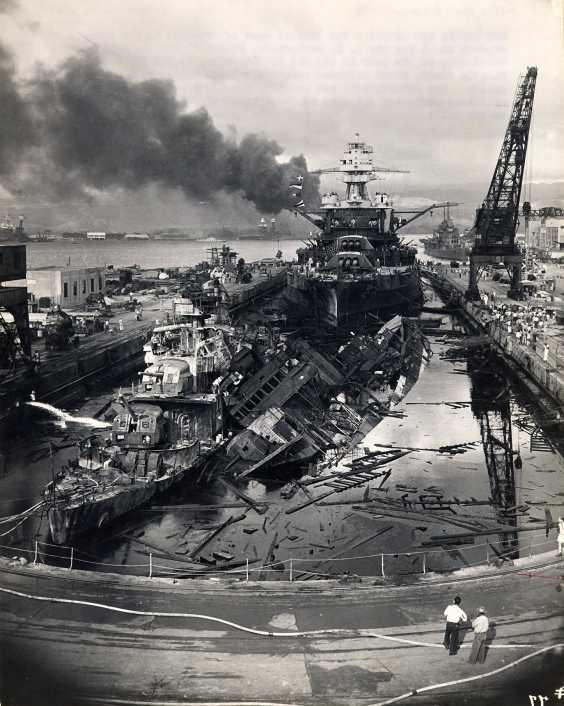PEARL HARBOUR - 7 DECEMBRE 1941 Att00025