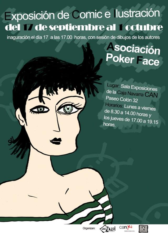 Exposición PokerFace en la CAN Cartel12