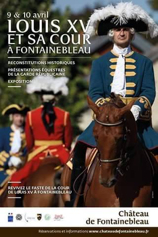 9 et 10 avril: Louis XV et sa cour à Fontainebleau. 12919910