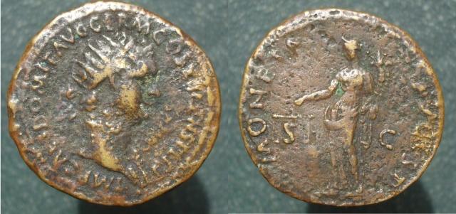 De Juno Moneta à Sacra Moneta, la Monnaie sur la monnaie Domiti10