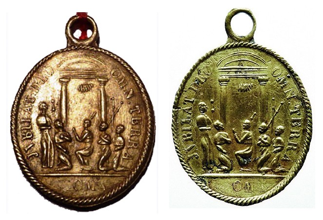 Santos Pedro y Pablo / Puerta Santa - Jubileo 1.825 (R.M. SXIX O67) Jubile13